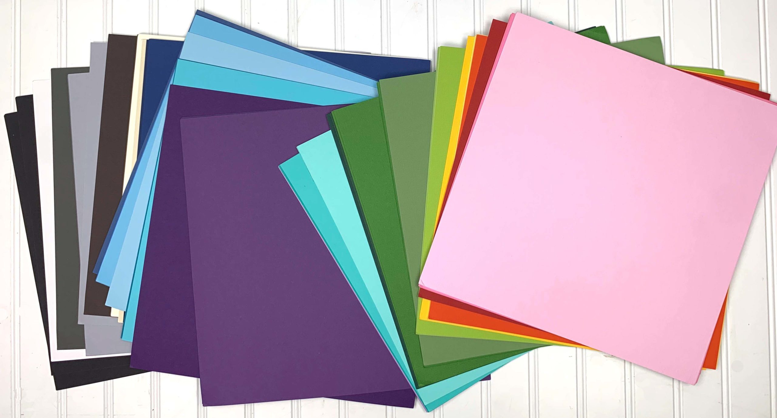 My Colors Cardstock prize package