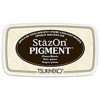 StazOn Pigment Ink - Piano Black