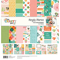 Simple Stories Crafty Girl Patterned Paper