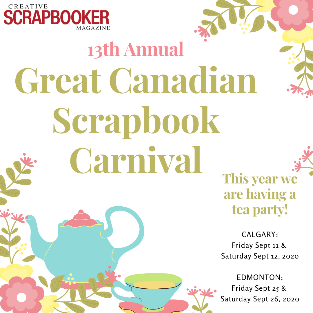 Great Canadian Scrapbook Carnival 2020