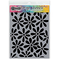 Dylusions Stencil – Spring Bloom