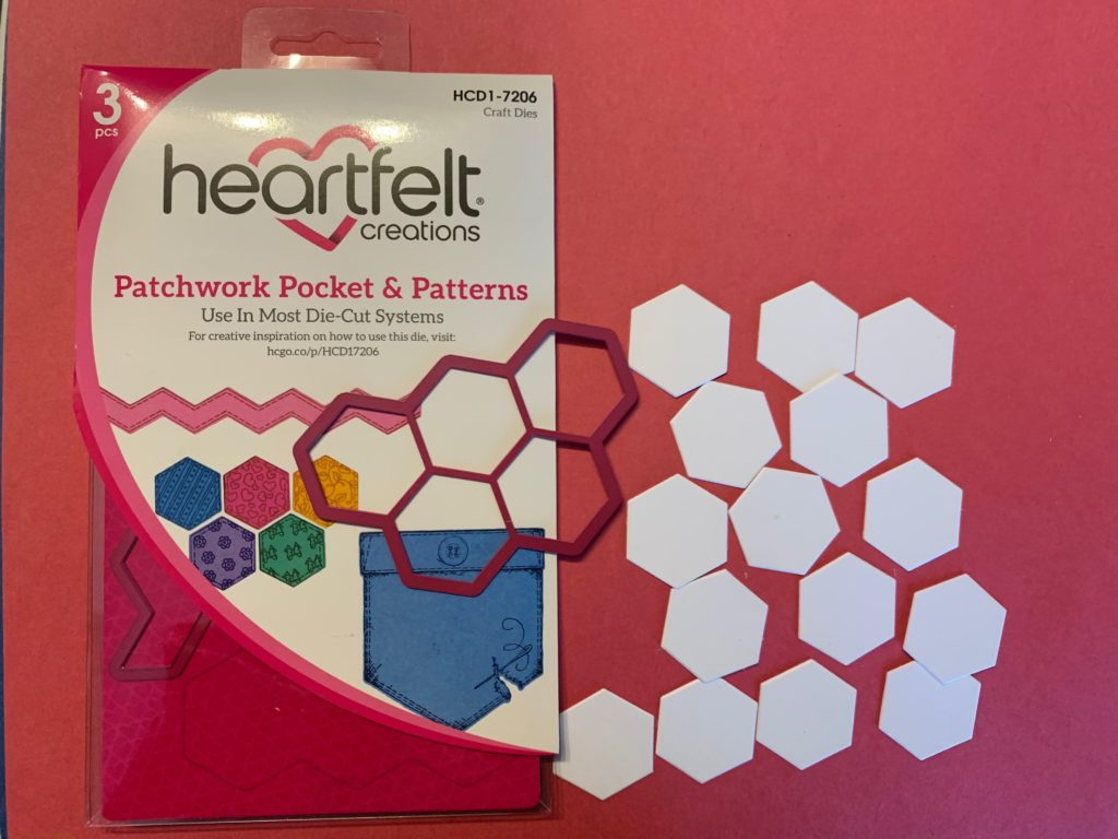 Patchwork Pockets die by Heartfelt Creations