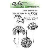 Picket Fence Studios Dandelion Wishes Stamp Set