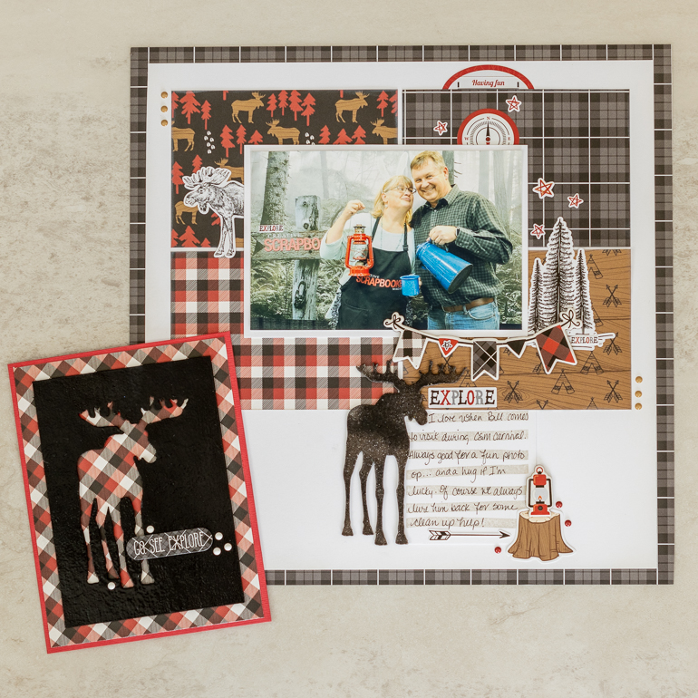 scrapbooking / cardmaking / Echo Park / Little Lumberjack Collection