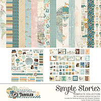 Simple Stories Simple Vintage Traveler Collection