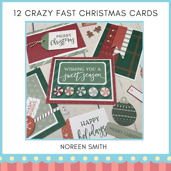 12 Crazy Fast Christmas Cards - EDM only
