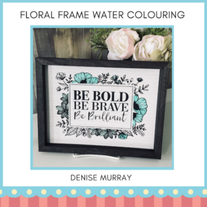 Floral Frame - Denise Murray - Both Cities
