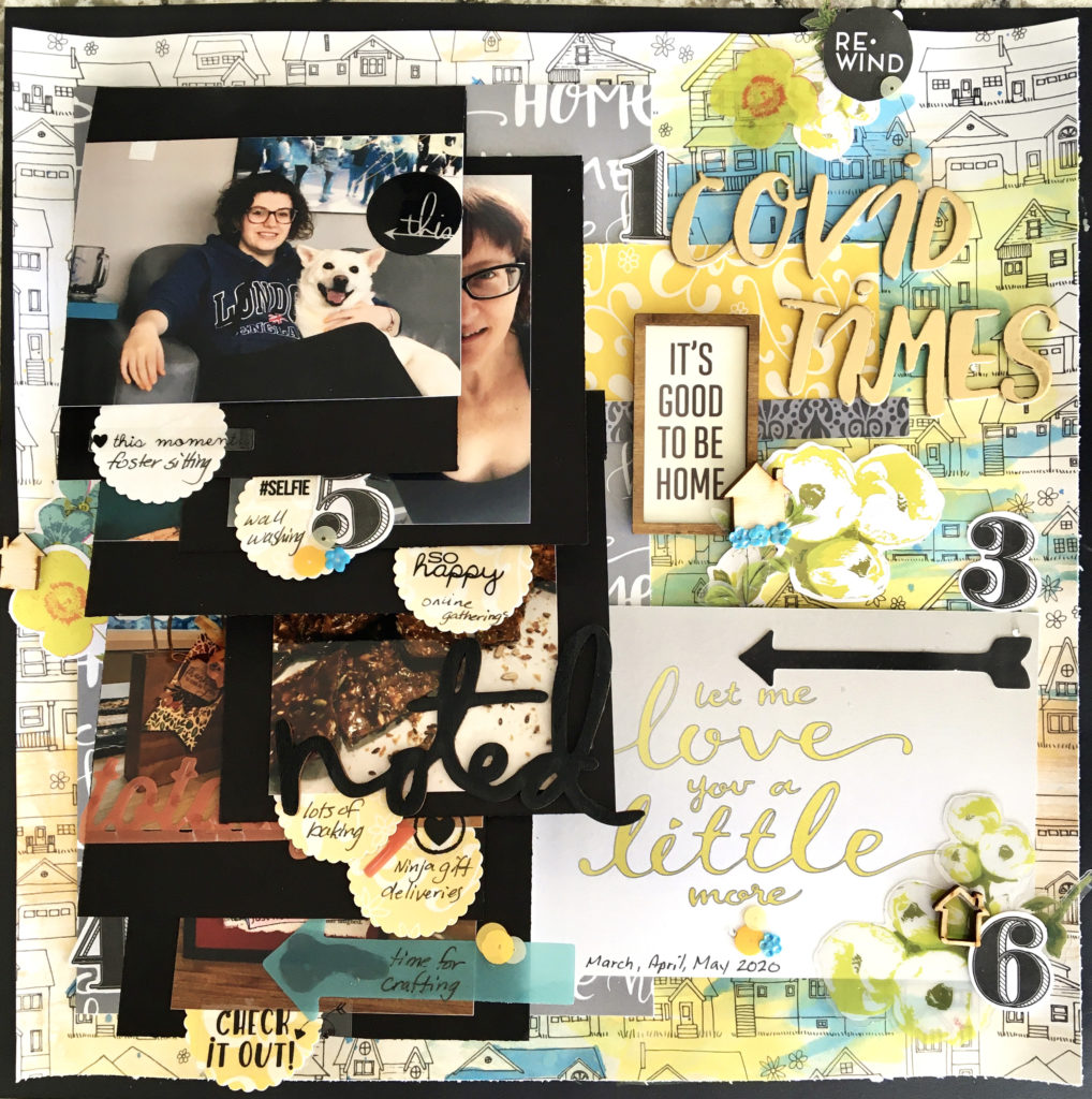 Scrapbook Layout designed by Jayme Loge