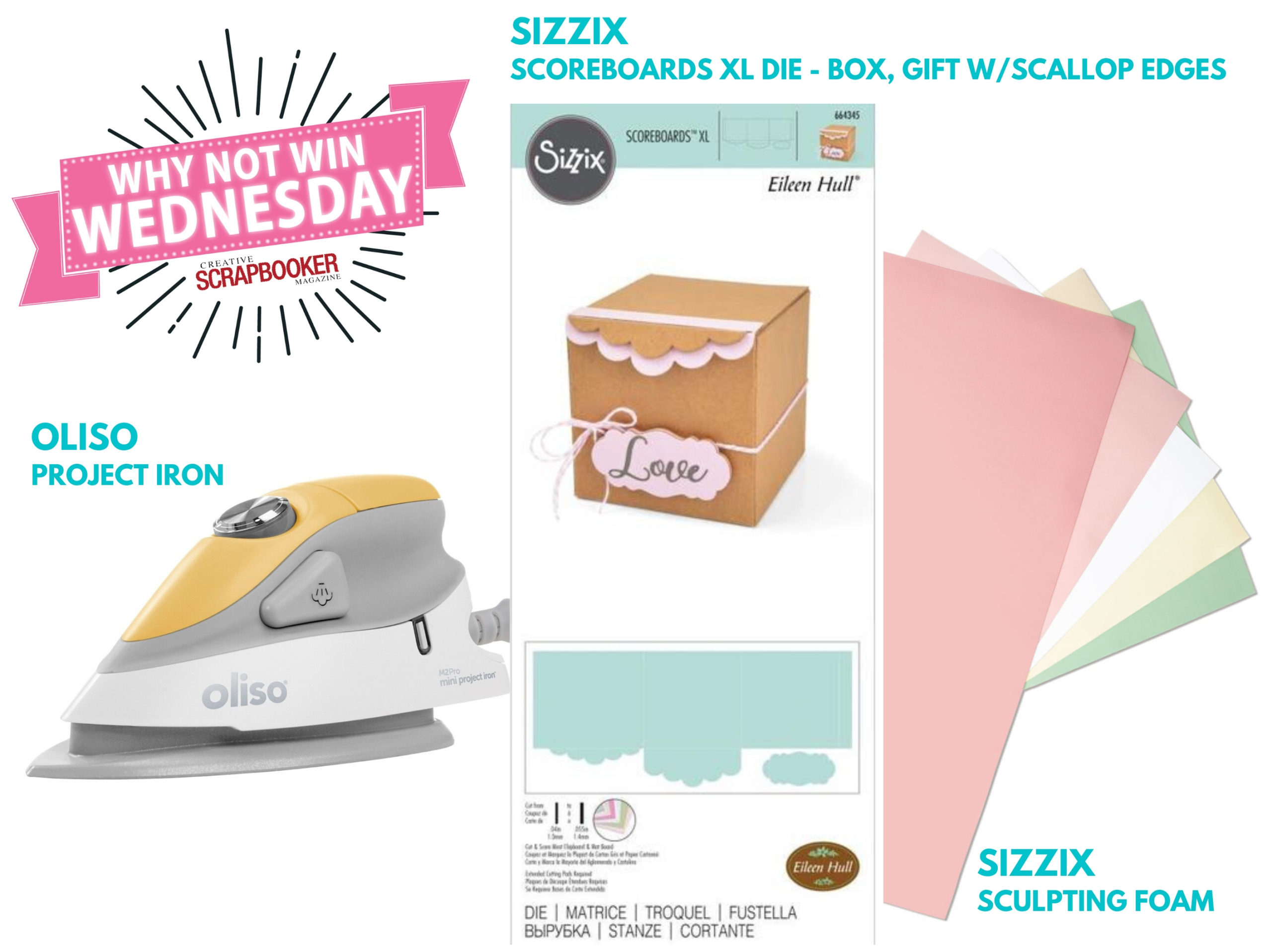 Oliso and Sizzix Giveaway
