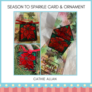 Cathie Allan Edmonton Season to Sparkle Card & Ornament