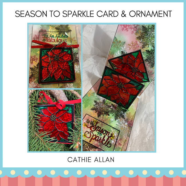 Cathie Allan Calgary Season to Sparkle Card & Ornament