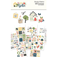 Simple Stories So Happy Together Sticker Collection