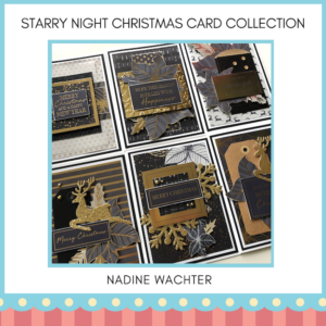 YYC Starry Night Christmas Card Collection -NADINE WACHTER