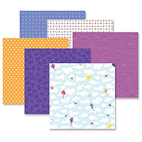 Creative Memories Electric Summer Patterned Paper