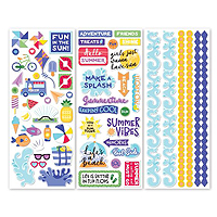 Creative Memories Electric Summer Stickers