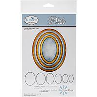 Elizabeth Craft Designs Stitched Oval Dies