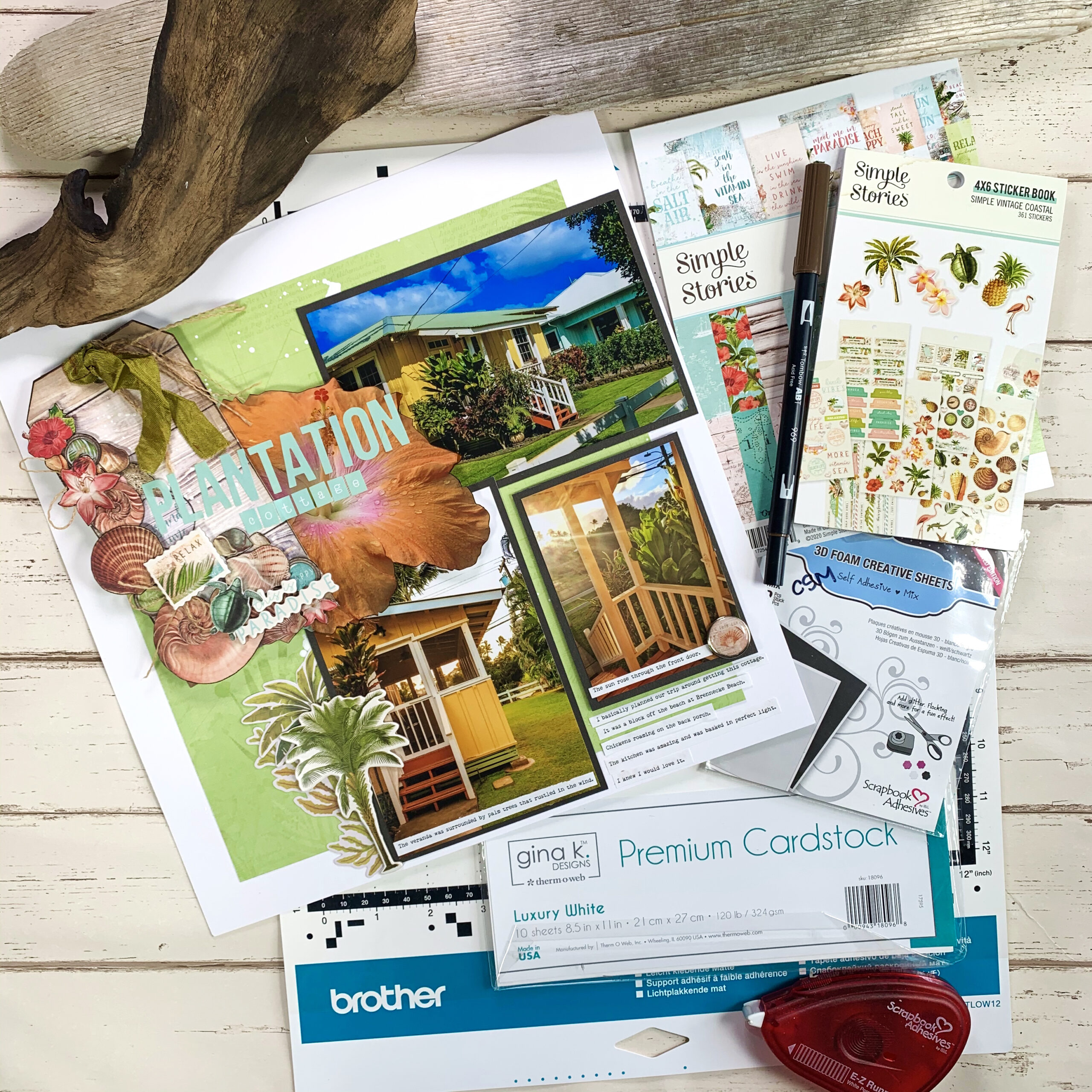 Brother ScanNCut Sticker Hacks for Scrapbooking