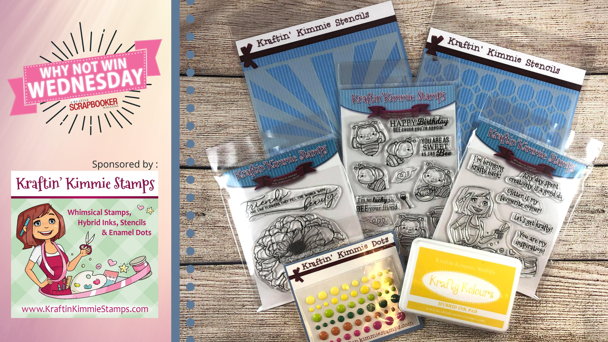 Kraftin Kimmie Stamps Prize Package