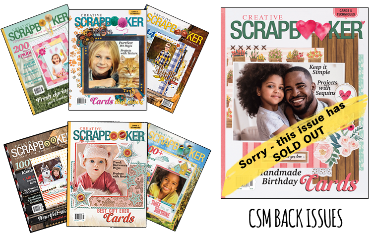 Creative Scrapbooker Magazine Back Issues