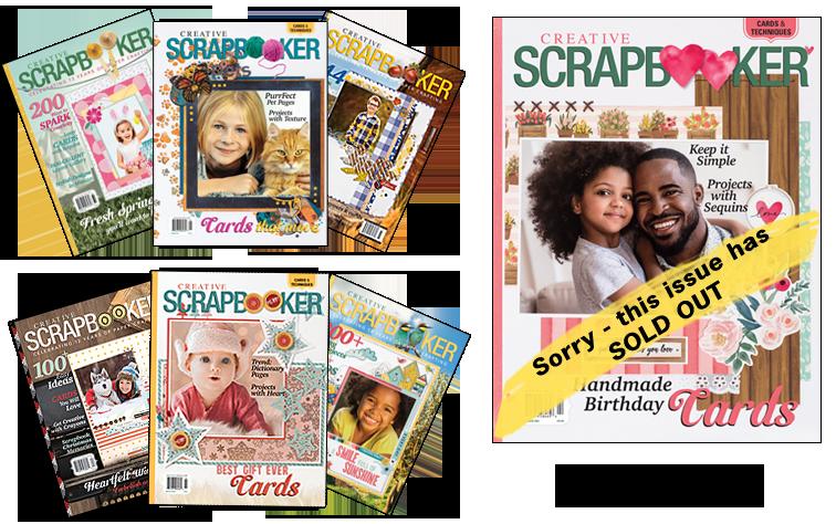 Creative Scrapbooker Magazine Back Issues