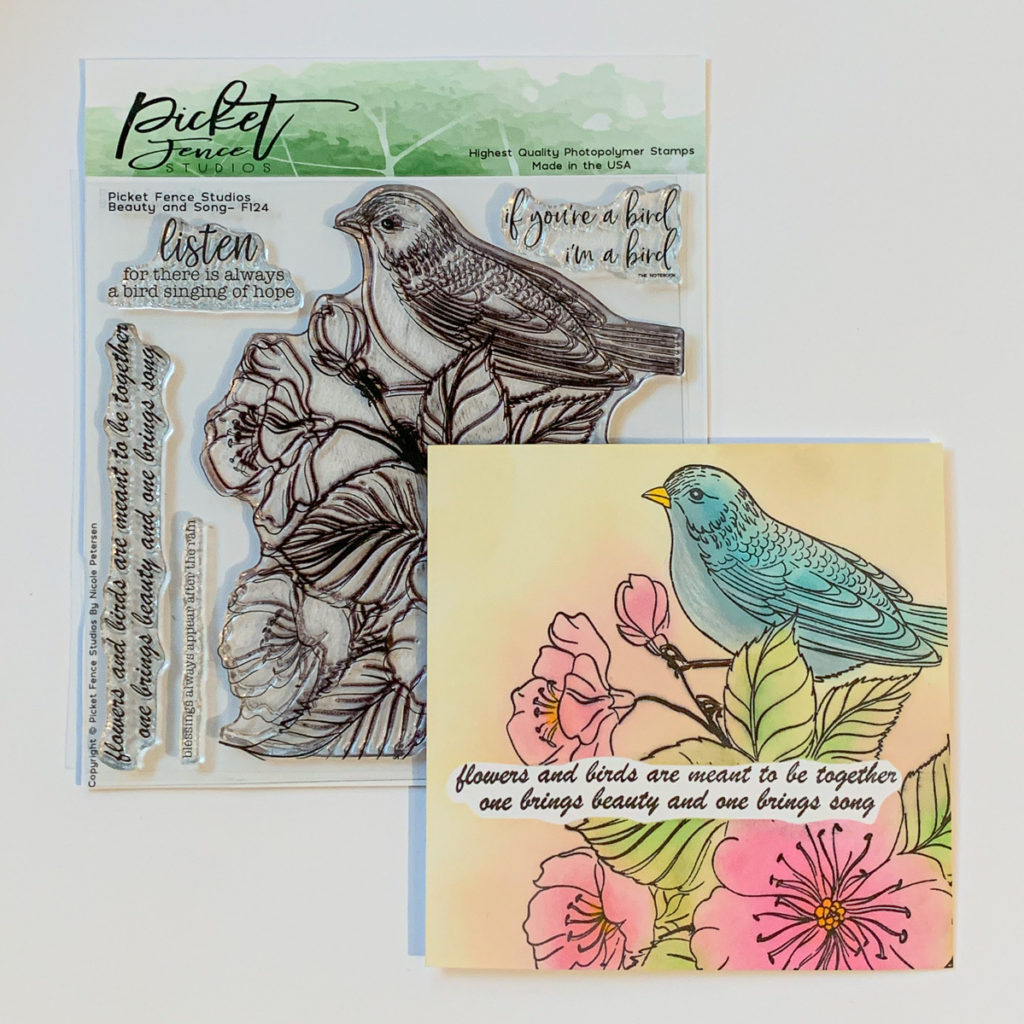 Beauty & Song / Distress Oxide Inks / cardmaking