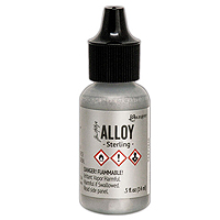 Ranger Tim Holtz Alloy Sterling Metallic Alcohol Ink