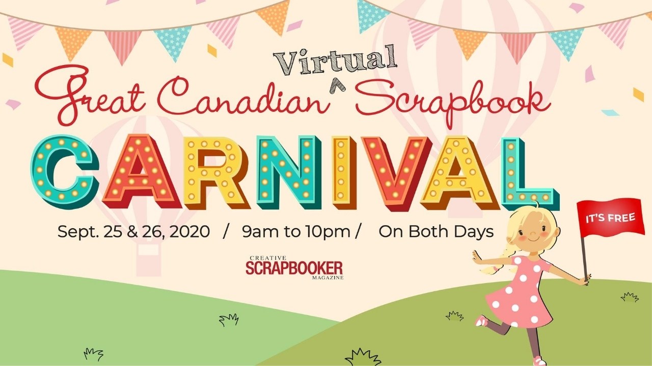 Great Canadian Virtual Scrapbook Carnival