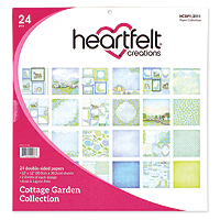 Heartfelt Creations Cottage Garden Patterned Paper