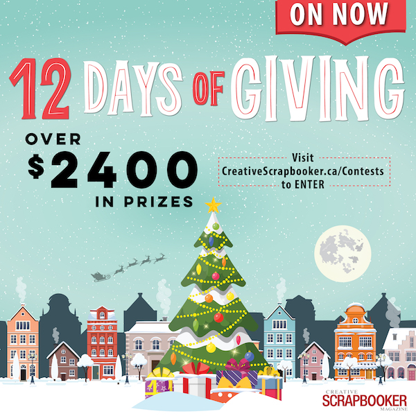 12 Days of Giving - ON NOW!!