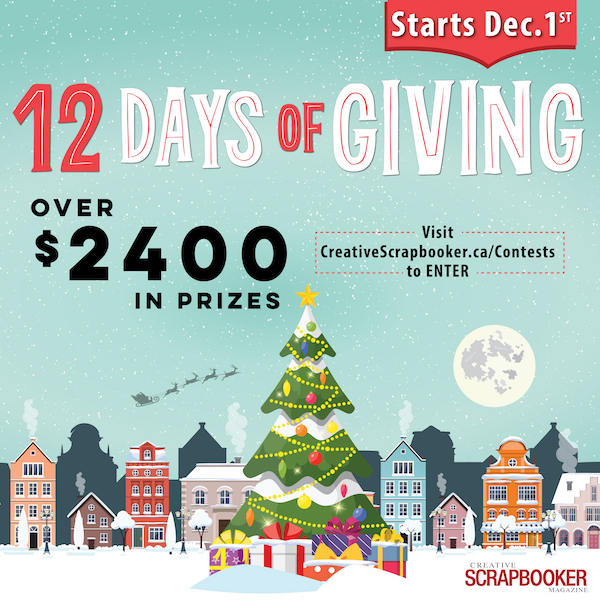 12 Days of Giving - STARTS DECEMBER 1!!