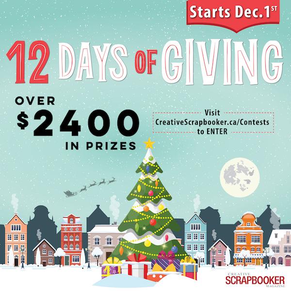 12 Days of Giving - STARTS DECEMBER 1!!