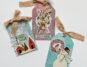Handmade Christmas Tags / Ranger gel plate / Simple Stories Winter Farmhouse