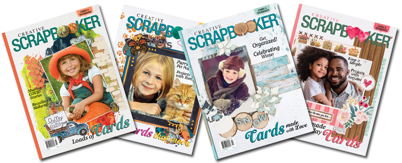 Creative Scrapbooker Magazine | 4 Cover spread