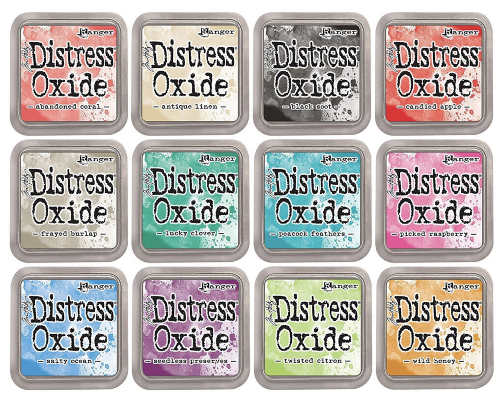 Ranger's Distress Oxide Inks