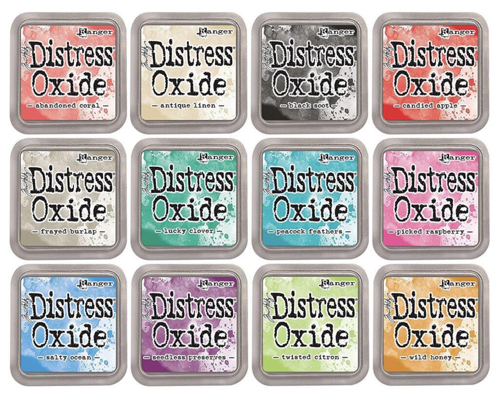 Ranger's Distress Oxide Inks