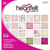 Heartfelt Creations Wild Rose Patterned Paper