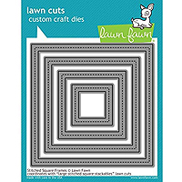 Lawn Fawn Stitched Square Frames