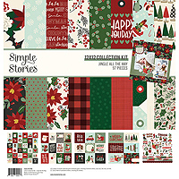 Simple Stories Patterned Paper