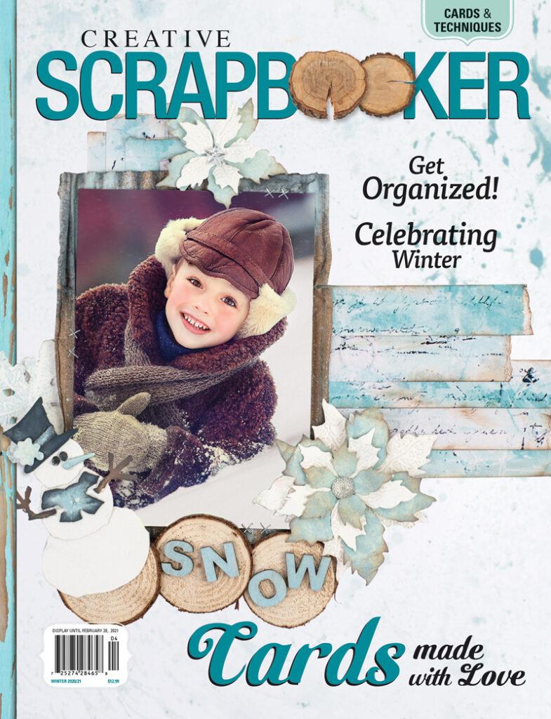 Creative Scrapbooker Magazine   Winter 2020/2021
