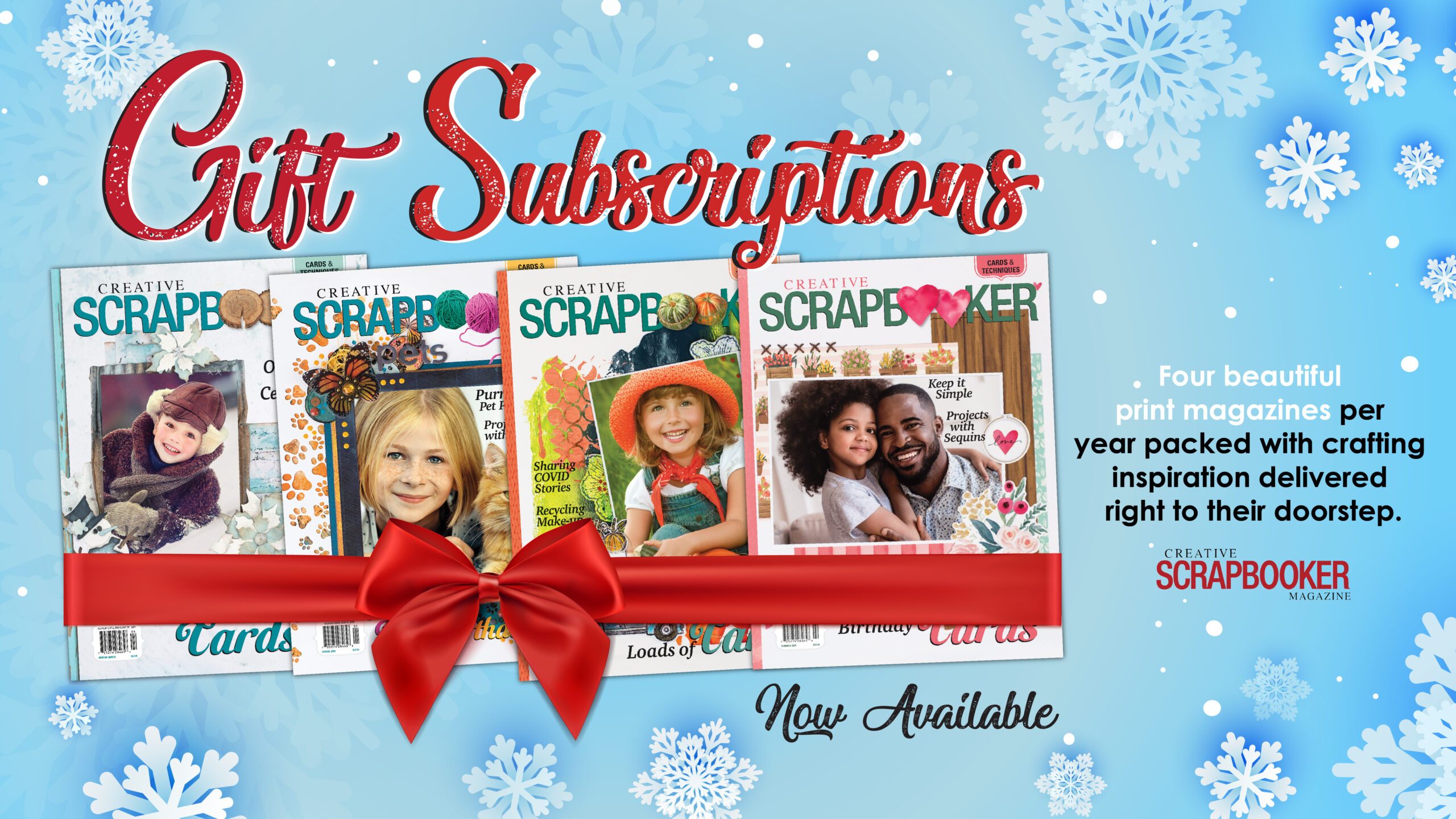 Give the GIFT of a Subscription to CSM