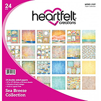 Heartfelt Creations Sea Breeze Collection Patterned Paper
