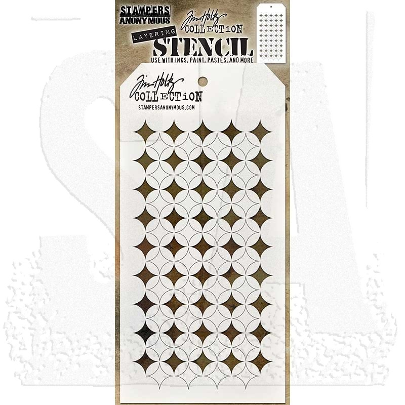 Shifter Burst Stencil - Stampers Anonymous