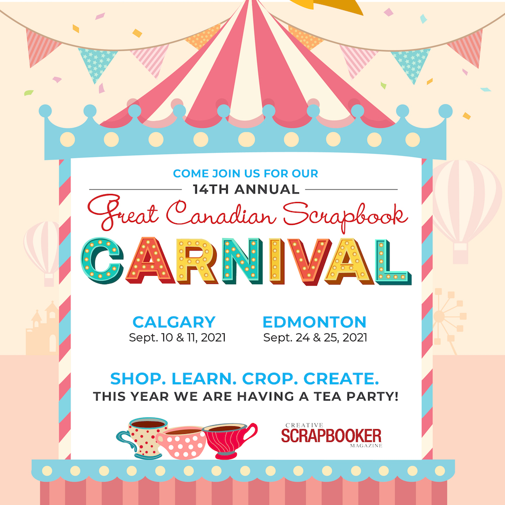 Great Canadian Scrapbook Carnival 2021