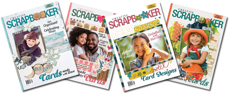 Spring 2021 issue of Creative Scrapbooker Magazine