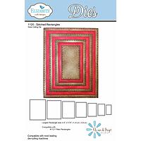 Elizabeth Craft Designs Stitched Rectangle Die