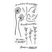 Impression Obsession Flowering Whimsy Stamp Set