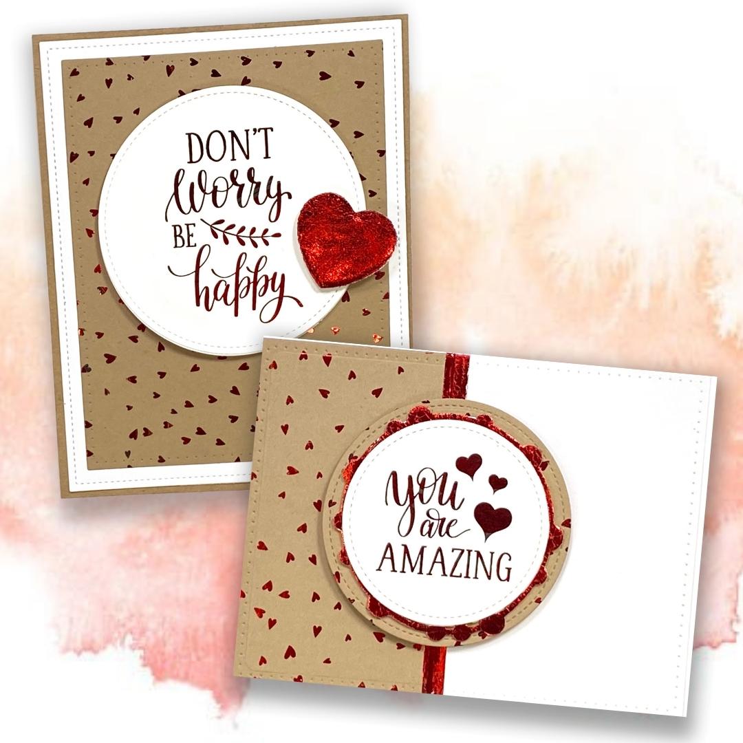 Jackie Ludlage - Therm O Web - Foiling Cards