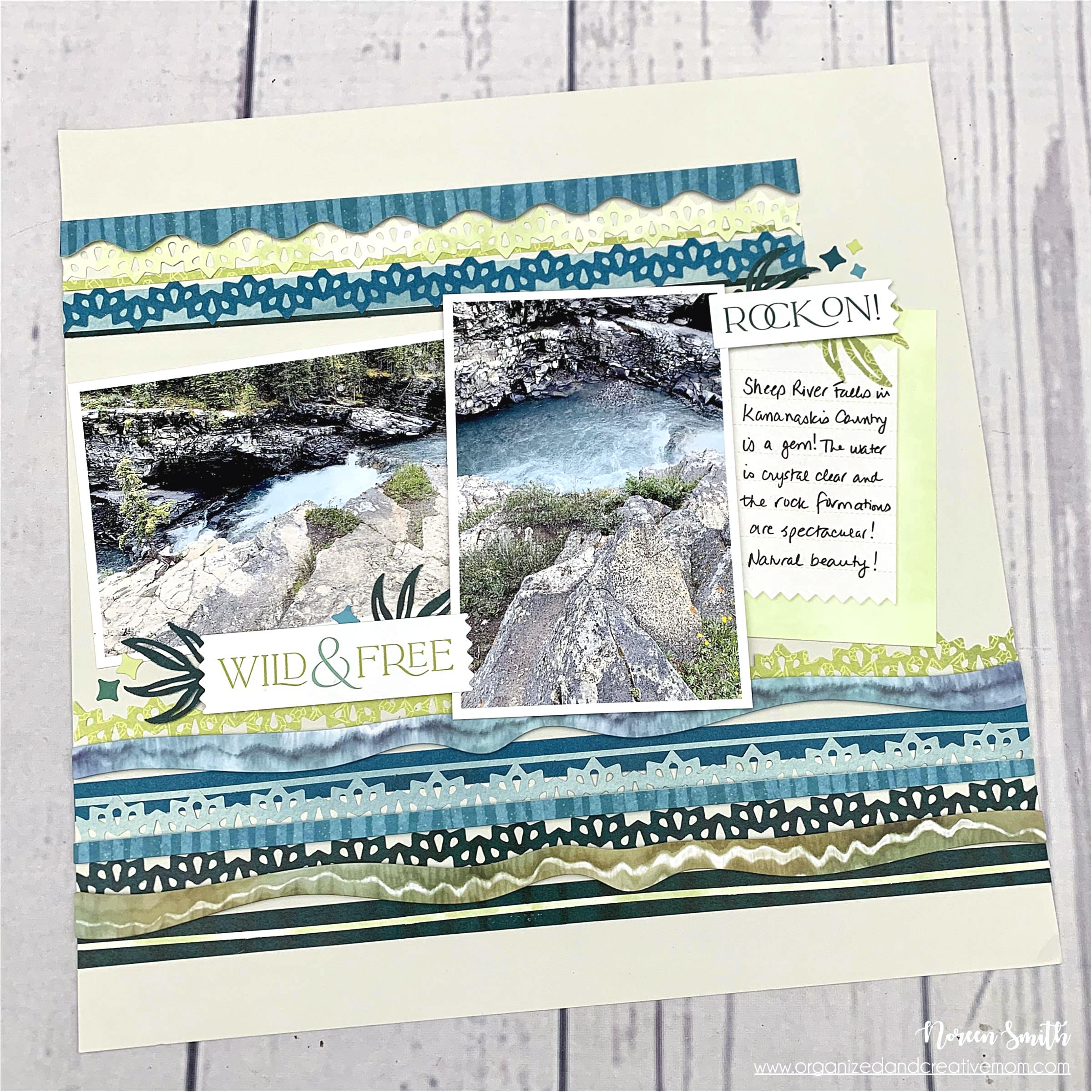 Creative Memories - Emerald Gemstone Collection - Noreen Smith