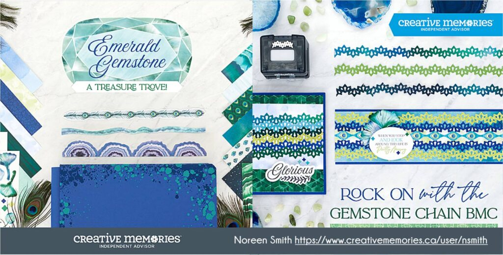 Creative Memories - Emerald Gemstone Collection - Noreen Smith