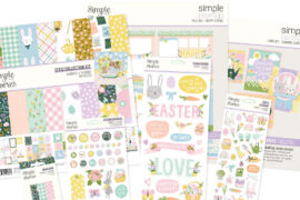 Simple Stories Bunnies and Blooms Collection - Giveaway